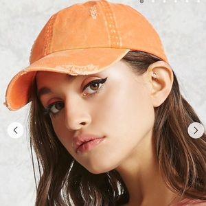 Accessories - ✨🔥•BOGO FREE•🔥✨ Distressed Orange Baseball Cap